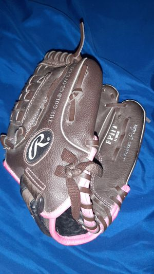 Fastpitch Softball/Baseball 11 inch glove With 1 baseball for Sale in Phoenix, AZ
