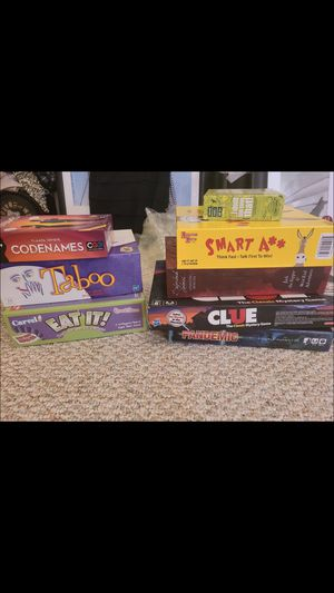 Adult board games for Sale in Brandon, FL