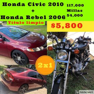 Two for one!!! Car and bike!!!! for Sale in Austin, TX