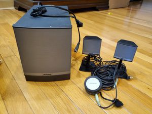 Bose and Logitech Speakers for Sale in Fairview, TN