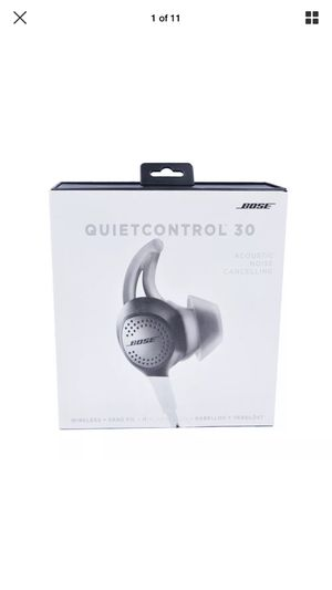 Bose QC30 (QuietControl 30) Wireless Headphones - Brand New/Sealed for Sale in Hyattsville, MD