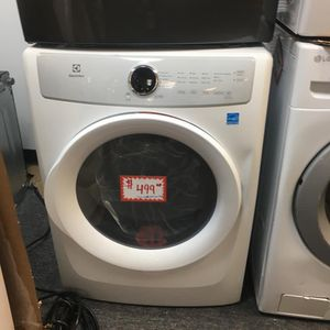 NEW SCRATCH AND DENT ELECTROLUX FRONT LOAD DRYER WITH WARRANTY for Sale in Laurel, MD