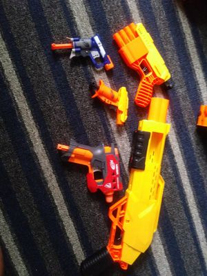 Nerf Guns & bullets for Sale in Albuquerque, NM