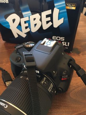 Canon EOS Rebel, SL 1, Tripod, Cleaning Kit, etc... for Sale in Henderson, NV