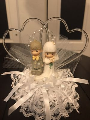 Wedding cake topper by Precious moments never used for Sale in Gilbert, AZ