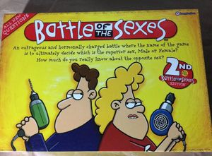 New Battle of the Sexes Board Game 2nd Edition for Sale in Oklahoma City, OK