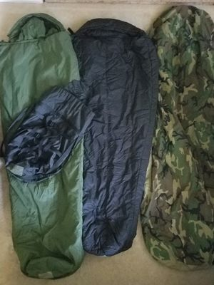 Military Sleep System 4pcs sleeping bag and bivy for Sale in Westminster, CO