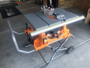 Ridgid table saw for Sale in Bakersfield, CA