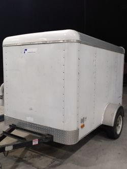 Trailer Peace American 5×8 No Leaks Registration In Hand for Sale in Miami,  FL