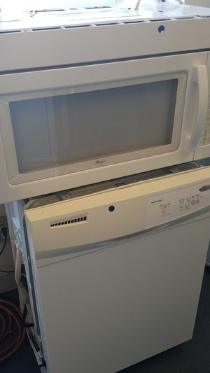 WHIRLPOOL, DISHWASHER,MICROWAVE, OBO for Sale in Stockton, CA