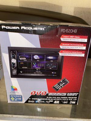 Power acoustik double din ! for Sale in Fontana, CA