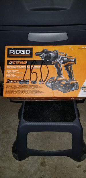 Ridgid octane combo set for Sale in Germantown, MD