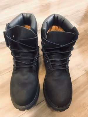 Black Timberland Boots for Sale in Glendale Heights, IL