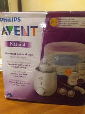 Phillips Avent Natural All in One Gift Set for Sale in Oglesby, IL