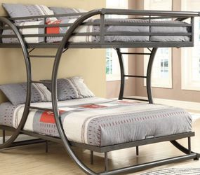 Full Over Full Bunk Bed for Sale in Chicago,  IL