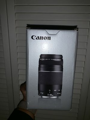 Canon camera lense for Sale in Hartford, CT