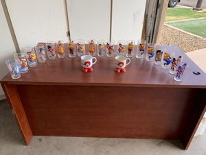 Vintage McDonald's Collectible Promotional Glasses from 1977 for Sale in Gilbert, AZ