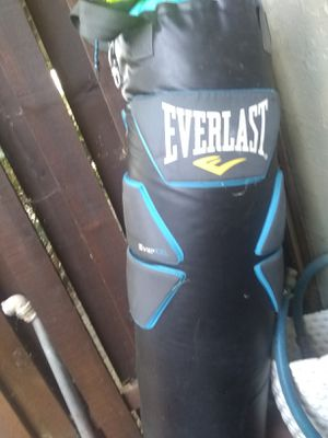 Everlast punching bag for Sale in Concord, CA