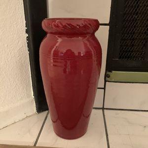 Red Vase for Sale in Orange, CA
