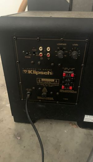 Klipsch speakers for Sale in Encinitas, CA
