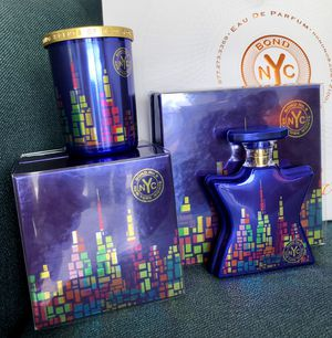 Bond no 9 New York nights perfume and candle for Sale in Hallandale Beach, FL