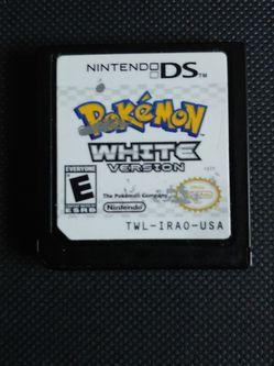 Pokemon White Nintendo Ds for Sale in Fresno,  CA