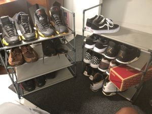Men's Shoes size 11,11.5, & 12 ( Jordan , Vans, Nikes, Casual ) for Sale in Cutler Bay, FL