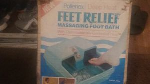 Pollenex 'DEEP HEAT' Feet Relief Massaging foot bath with thetmostatically controlled heat for Sale in San Antonio, TX