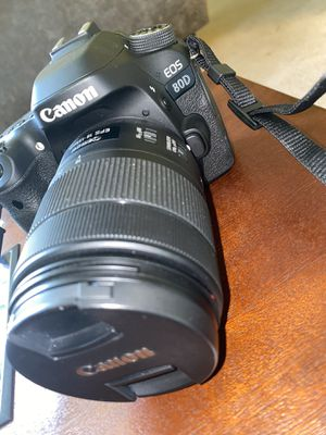 Canon EOS 80D for Sale in Owings Mills, MD