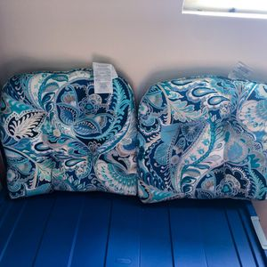 Pier 1 Imports Paisley Outdoor Cushions for Sale in San Diego, CA