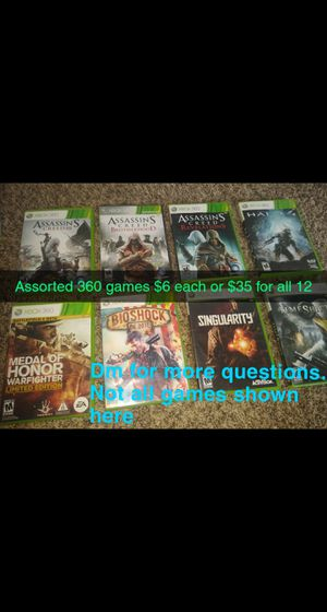 Assorted 360 games for Sale in Paducah, KY