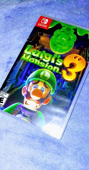 Luigi Mansion 3 Nintendo Switch for Sale in San Diego, CA