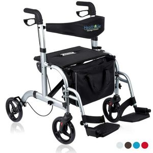 Health Line 2 in 1 Rollator-Transport Chair for Sale in Ontario, CA