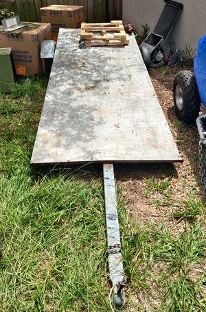 14 FT ALUMINUM FLATBED TRAILER for Sale in Palm Shores, FL