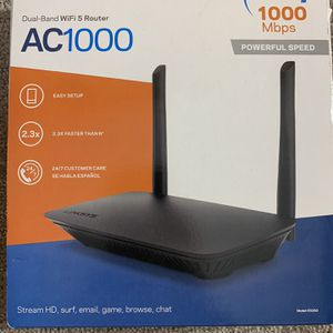 Linksys Wife Router Dual Band Ac1000 for Sale in Seattle, WA