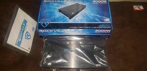 Rockville DB55 4000 watt 5channel Amplifier for Sale in El Cajon, CA