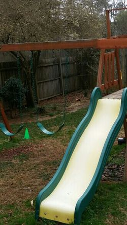 HEAVY DUTY Swing Set Selling For Parts. Please Read Description for Sale in Holly Springs,  NC