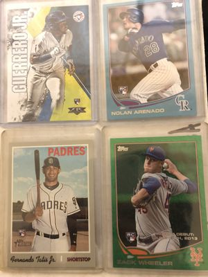 Rookie baseball cards/football for Sale in Gilroy, CA