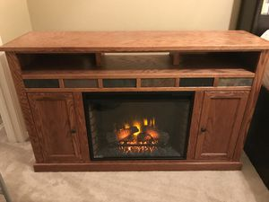 Entertainment Center with Fireplace for Sale in Austin, TX