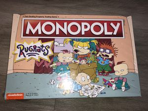 New Monopoly Rugrats Board Game -Based on The Nickelodean Series Rugrats | nrmnt box for Sale in Las Vegas, NV