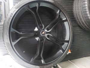 Oem McLaren light weight wheels and tires for Sale in The Bronx, NY