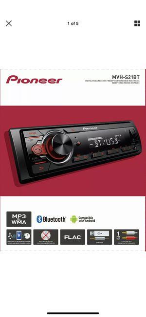 Pioneer MVH-S21BT Bluetooth Car Stereo Receiver AM/FM Auto Audio System Radio for Sale in Atlanta, GA