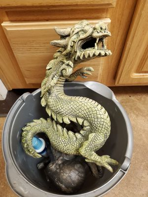 Large Dragon Bubbler Aquarium / Fish Tank Decoration for Sale in Tacoma, WA