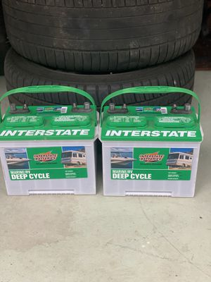 Interstate deep cycle battery for Sale in San Diego, CA