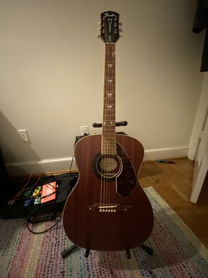 Fender Tim Armstrong Hellcat Acoustic-Electric Guitar Natural w/ case (totally new) for Sale in Washington, DC