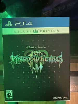 Kingdom hearts three deluxe edition for Sale in SeaTac, WA