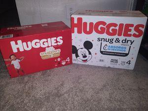 Huggies size 4 for Sale in Kent, WA