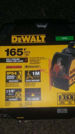 Dewalt 165' laser level for Sale in Bakersfield, CA