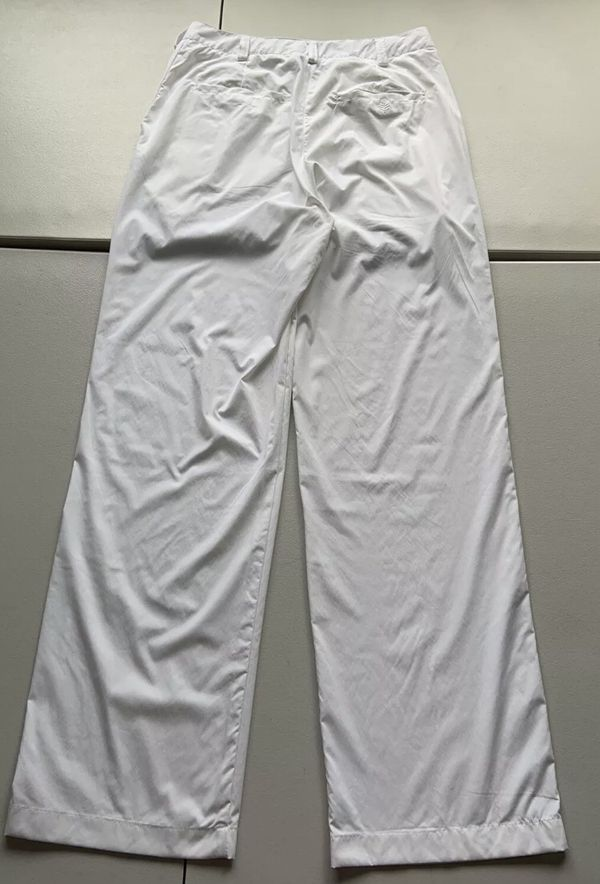Coolibar Women's White Sun Protection UPF 50+ Travel Outdoor Pants Size 8