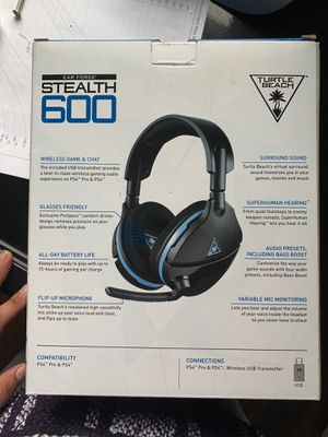 PS4 HeadSet - Stealth 600 Turtle Beach for Sale in Nashville, TN